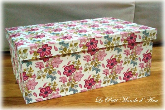 boite carton fleurs roses1