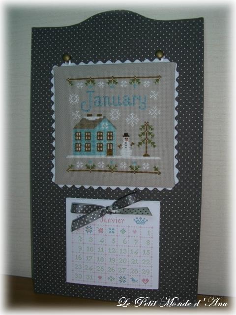 calendrier janvier