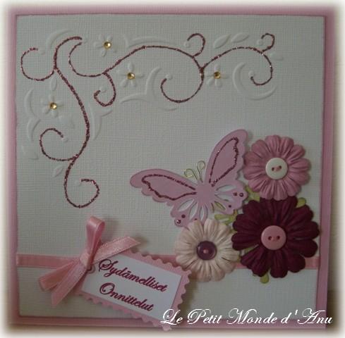carte anniv papillon