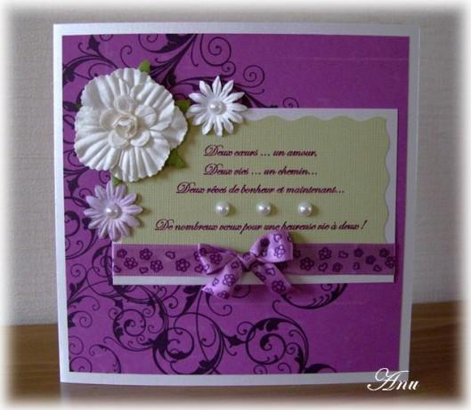 carte mariage