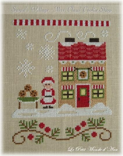 Mrs Claus Cookie Shop