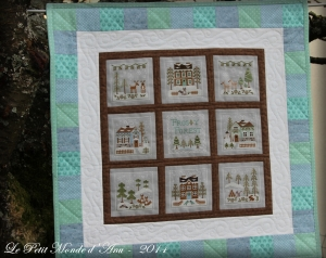 Frosty Forest quilt1