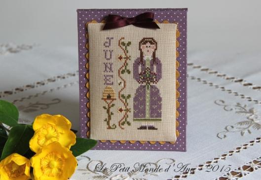 June Calendar Girl